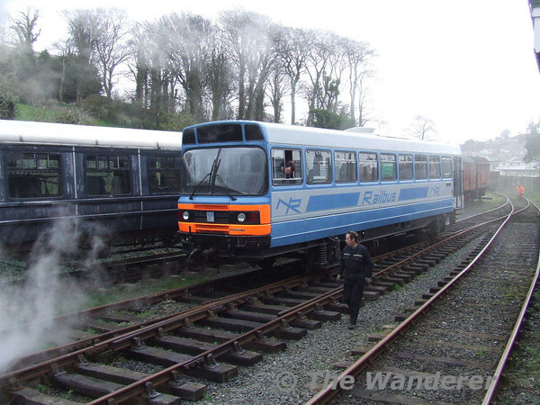 RB3 pull into the Yard at Downpatrick. Sat 17.03.07