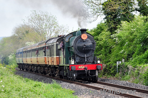 RPSI Saint Canice Railtour Sat 17th Sun & 18th May 2014