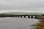 Just before arriving at Caherciveen the Valentia Harbour railway crossed the Valencia River on a long viaduct. Sat 15.07.17
