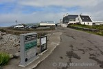Plaques commemorating the station at Valentia Harbour, located on the Pier. The claim to fame for the station was that it was the most westerly in Europe. Sat 15.07.17