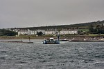 A car ferry links Valentia Harbour with Knightstown on Valentia Island. A longer trip via Portmagee and crossing by a road bridge is also available. Sat 15.07.17