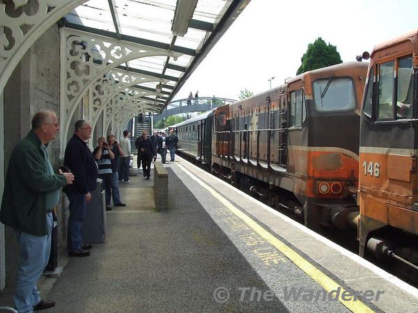 Roscommon station. Sat 19.05.07
